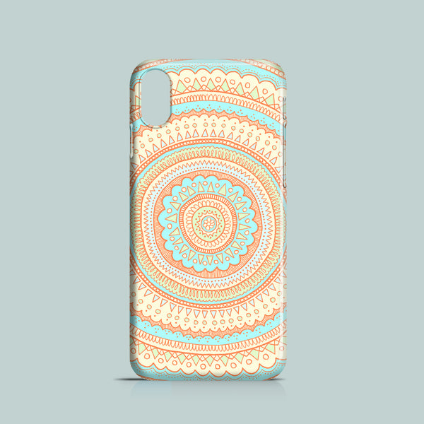 Orange Carousel mobile phone case