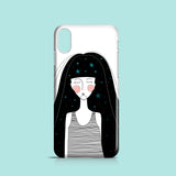 Celestial girl iPhone XR case