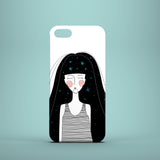 Celestial Girl iPhone 5 case