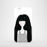 Celestial Girl iPhone 8 case