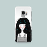 Celestial Girl iPhone case, Samsung Galaxy case