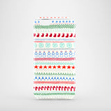 Christmas Doodles mobile phone case