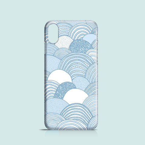 Clouds iPhone X case