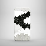 hard plastic iPhone 5 case with cloud illustration