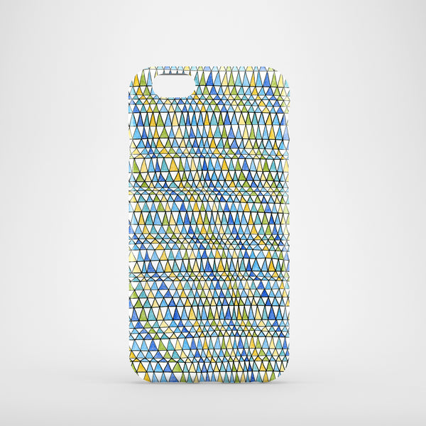 Crazy Triangles mobile phone case