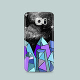 Samsung S7 case with crystal illustration