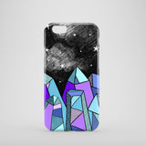 Crystal illustration iPhone 7 cover
