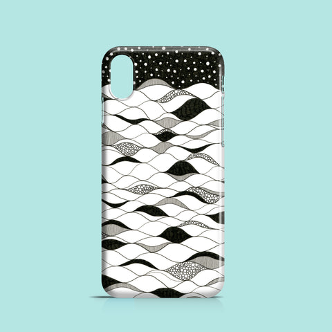 Deep waters iPhone X case