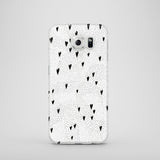 Dots and Hearts mobile phone case