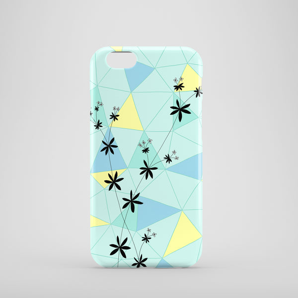 Florals and Shapes mobile phone case