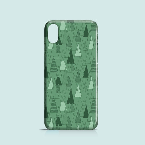 triangle pattern iPhone XR case