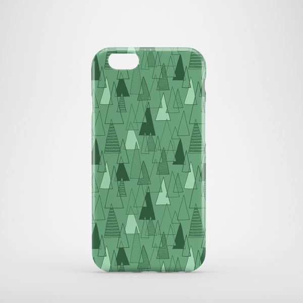 Forest Pattern mobile phone case