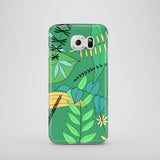 Green Leaves iPhone case, Samsung Galaxy case