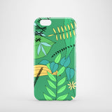 green leaves drawing iPhone 6 cover