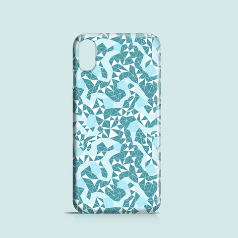 Ice Flowers mobile phone case