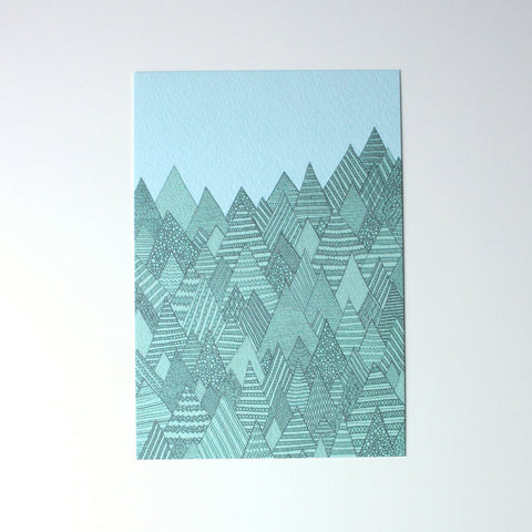Forest A6 Print