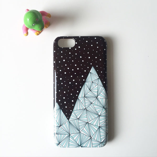 Blue Mountain iPhone case
