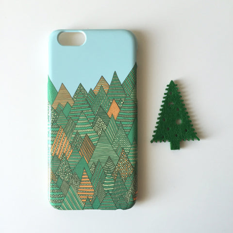 Autumn Forest iPhone 6S case