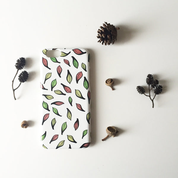 Autumn Leaves iPhone case, Samsung Galaxy case
