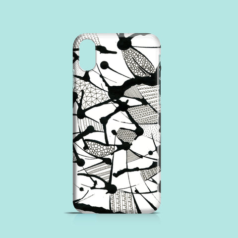 Inky mess iPhone X case