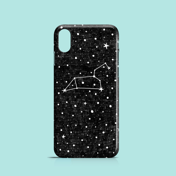 Leo star-sign iPhone XR case