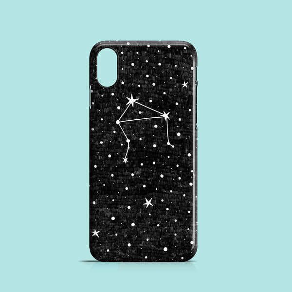 Libra illustration iPhone XS case