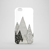 Graphic mountain iPhone 7 case