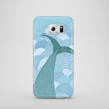 Samsung Galaxy S7 case with fish tail illustration