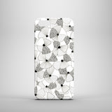 Monochrome poppy illustration polycarbonate iPhone 5 case