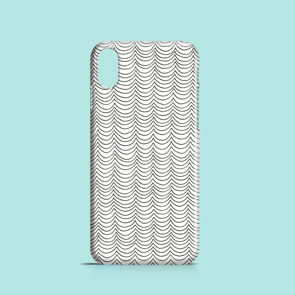 Line Waves mobile phone case