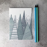 Mountains A6 Print