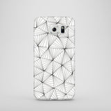 Samsung Galaxy S6geometric black and white case