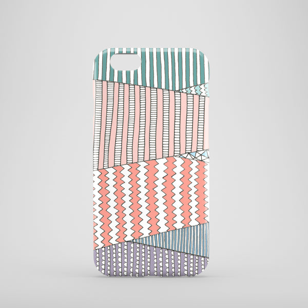 Pastel Fields mobile phone case