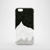 Monochrome graphic nature iPhone 7 case