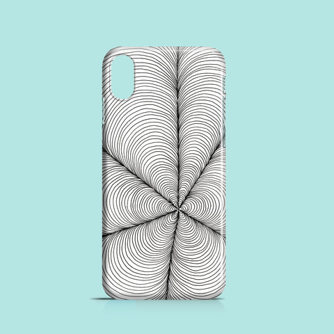 Petal Web mobile phone case
