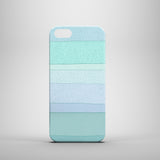 Sea green dots iPhone 5 slim case