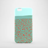 Poppy Field mobile phone case