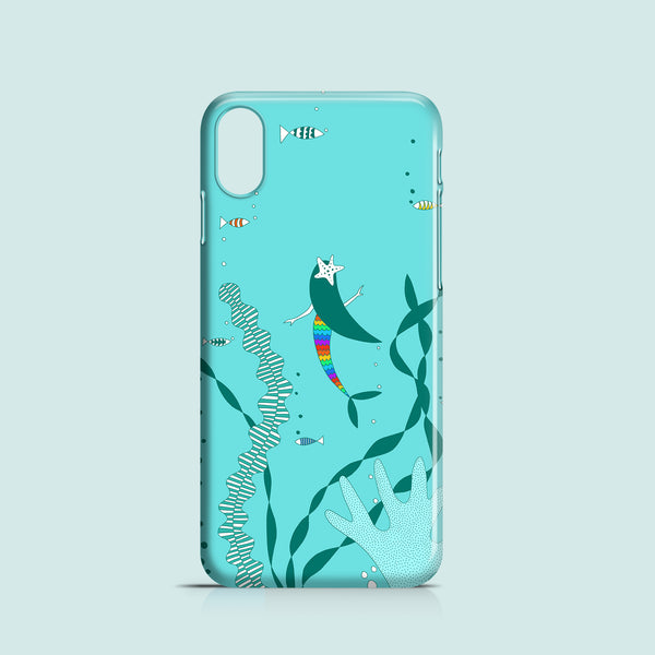 Rainbow Mermaid mobile phone case
