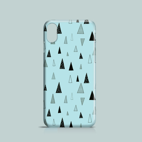 Raining Triangles mobile phone case