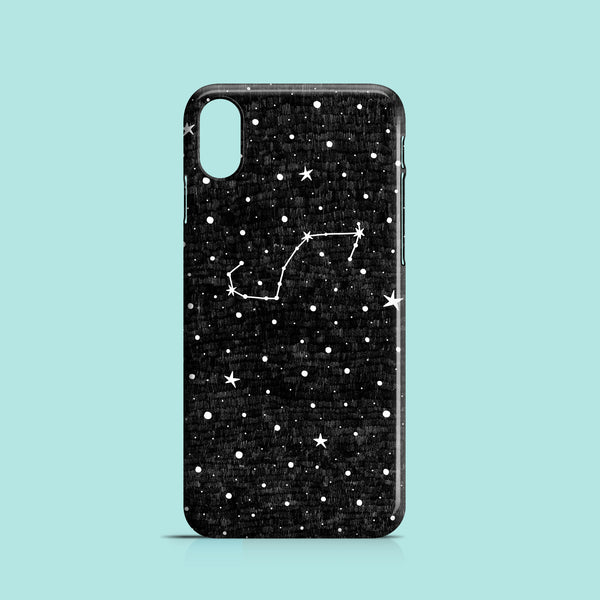 Stars and zodiacs iPhone XR case