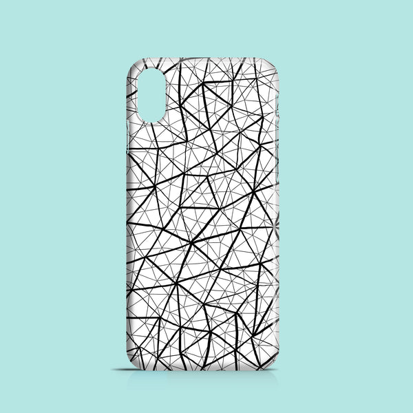 Shattered style iPhone X case