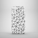 Monochrome geo polycarbonate iPhone 5 case