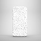Slim monochrome iPhone 5 case