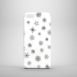 Snowflakes Christmas polycarbonate iPhone 5 case