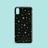 B&W Stars iPhone case, Samsung Galaxy case