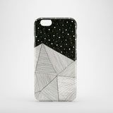 Stripe Mountains mobile phone case