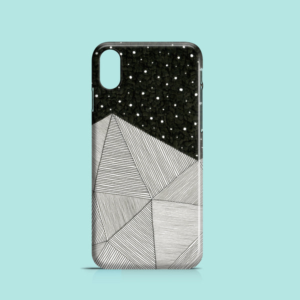 Stripes and stars iPhone XS case