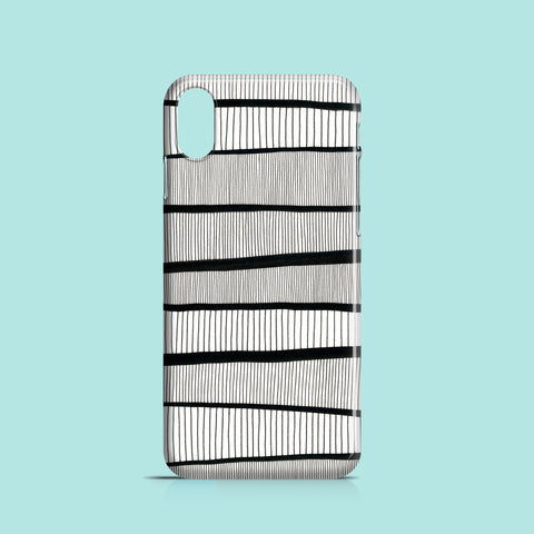 Ink drawing lines iPhone X case