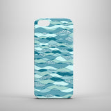 Waves mobile phone case