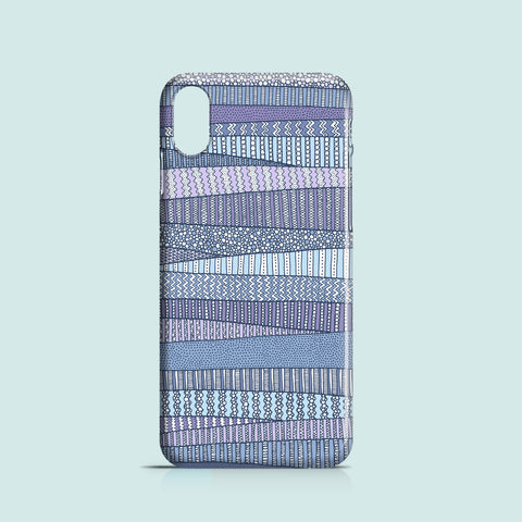 Winter Fields mobile phone case
